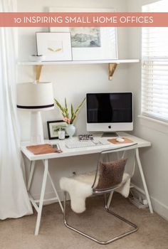 Eye Candy: Small Offices With Big Impact » Curbly | DIY Design Community