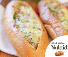 If you are looking for another twist on breakfast / brunch, then you should try these delicious and easy baked egg boats. For the full recipe, click here: http://ablog.link/448. #Nulaid #recipe
