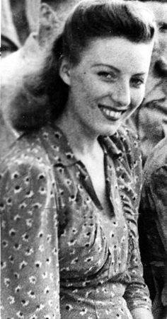 """Vera Lynn, a British singer. During the war she toured Egypt, India and Burma, giving outdoor concerts for the troops. She became known, and is still referred to, as """"The Forces' Sweetheart""""; the songs most associated with her are """"We'll Meet Again"""", """"The White Cliffs of Dover"""" and """"There'll Always Be an England"""". --- A side note: in 2009 she became the oldest living artist to make it to No. 1 on the British album chart, at the age of 92."""