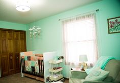 Project Nursery - Mint Green Butterfly Nursery