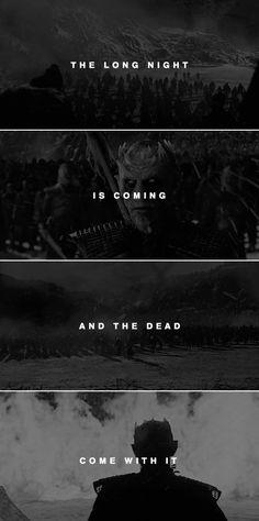 in this war, and in the g r e a t w a r still to come. #asoiaf