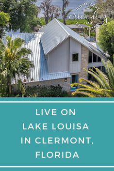 You will feel like you are vacationing right at home. This home on Lake Louisa in Clermont, Florida is one right out of a travel site! You will enjoy your own beach & boat dock! See all of the details now! Florida Living, Florida Home, Clermont Florida, Boat Dock, Outdoor Living, Outdoor Decor, Waterfront Homes, Central Florida, Exterior Colors