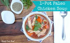 Share it!212,32124530 If you're not used to seeing recipes like this on my blog, make sure you read my recent article Why I Stopped Being Vegetarianto find out why I've started to incorporate some pasture raised meats into my diet. This 1-pot paleo chicken soup recipe is a great healing recipe that's easy to digest …