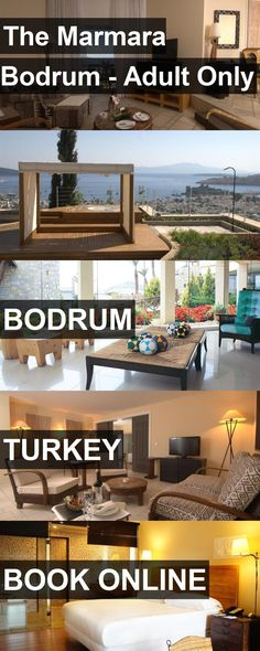 Hotel The Marmara Bodrum - Adult Only in Bodrum, Turkey. For more information, photos, reviews and best prices please follow the link. #Turkey #Bodrum #TheMarmaraBodrum-AdultOnly #hotel #travel #vacation