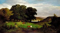 Oak Trees by Edward Mitchell Bannister