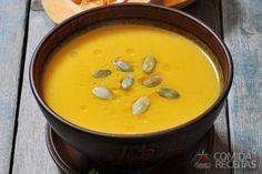 Receita de Caldo de jerimum em receitas de sopas e caldos, veja essa e outras receitas aqui!