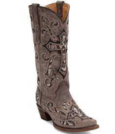 Corral Scarlett Cowboy Boot - Women's Shoes in Heiser Gold | Buckle