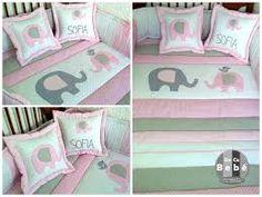 Resultado de imagen para edredon Baby Room, Toddler Bed, Applique, Nursery, Sofa, Baby Shower, Cool Stuff, Elephants, Furniture