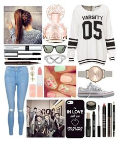 """""""I Need This"""" by qwerty-16-polyvore ❤ liked on Polyvore featuring New Look, Converse, Rimmel, Vince Camuto, Givenchy, By Terry, Marc Jacobs, Lord & Berry, Lord & Taylor and Ray-Ban"""