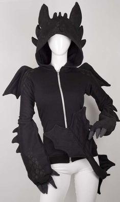 "Remember ""How to train your Dragon""? This is Toothless costume and I need it!"