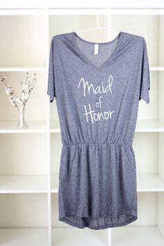 Maid Of Honor - Maid Of Honor Gift - Maid Of Honor Dress - Maid Of Honor Shirt - Bridesmaid Shirts - Bachelorette Party - Bridesmaid Gift