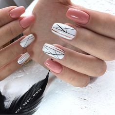 Best Nail Art - 61 Best Nail Art Designs for 2019 - Nägel - Nageldesign Pretty Nail Colors, Pretty Nail Designs, Best Nail Art Designs, Pretty Nail Art, Gel Nail Designs, Easy Nail Art, Cool Nail Art, Diy Nails, Cute Nails