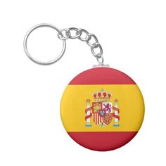 #key ring Spanish flag - #country gifts style diy gift ideas
