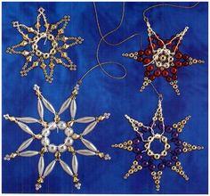 Beaded Snowflake scheme