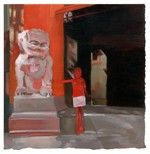 Grauman's Chinese Theatre print by Ruth Shively