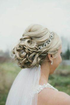 accessoires cheveux coiffure mariage chignon mariée bohème romantique retro, BIJOUX MARIAGE (87)