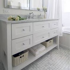 hamptons bathroom - Google Search Tap the link now to see where the world's leading interior designers purchase their beautifully crafted, hand picked kitchen, bath and bar and prep faucets to outfit their unique designs.