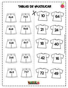 Evangelina gentiletti s 381 media analytics – Artofit Math Multiplication Worksheets, Kids Math Worksheets, Math Games, Math Activities, Division Activities, Math Sheets, Primary Maths, Homeschool Math, 2nd Grade Math