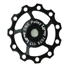 Lerway Aluminium Jockey Wheel Rear Derailleur Pulley SHIMANO SRAM 11T Black Lerway http://www.amazon.com/dp/B00ESY1W4W/ref=cm_sw_r_pi_dp_PWcyvb1RK2Y16