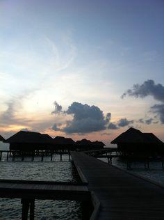 #sunset #Maldives