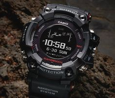 7e6a6dfae Casio´s new G-Shock is a Solar-Powered GPS Watch! The G-Shock Rangeman  features the world's first solar-assisted GPS navigation.
