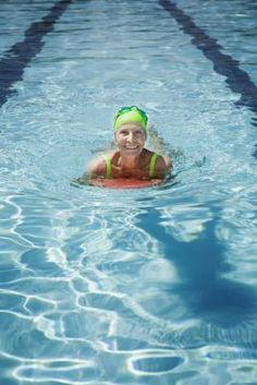 Kickboard Exercises -- A kickboard can be a particularly effective tool in a water workout because it can help you balance in the water so you can target specific muscle groups and can be used to create resistance for certain exercises as well.