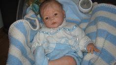 "My little"" Karl"" from from the beautiful Karlotta sculpt by Karola Wegerich and reborn by Patricia Dwyer/Claridge) Mammapat reborn nursery"