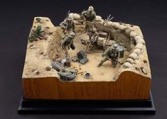 Military Figures, Military Diorama, North African Campaign, Steampunk Airship, Military Modelling, Plastic Models, Figure Painting, Scale Models, Miniatures