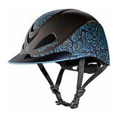 2017 Fallon Taylor Helmet Turquoise Floral - Item # 43608
