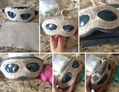 Picture of Making the Goggles, Staff, Gloves, and Boots