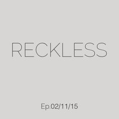 Deep house weekly podcast mixed by Ali Farahani - Reckless Ep. 02/11/15 - #009