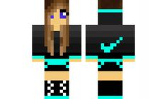 minecraft skin Cute-Sports-Girl Check out our YouTube : https://www.youtube.com/user/sexypurpleunicorn