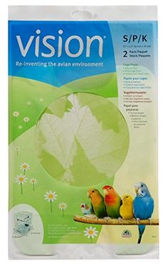 Vision Bird Cage Paper Small 17Inch by 13Inch >>> You can get additional details at the image link.Note:It is affiliate link to Amazon.