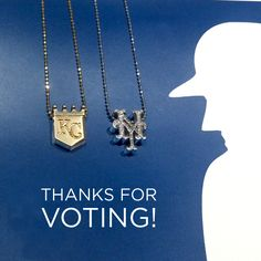Congrats to the Kansas City Royals on their win last night & thanks to everyone who voted in our ‪#‎worldseries‬ MLB fan favorite contest!  http://www.alexwoo.com/little-mlb-kansas-city-royals-in-14kt-yellow-gold.html  http://www.alexwoo.com/little-mlb-new-york-mets-in-14kt-white-gold-with-diamonds.html
