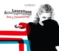 "Laura Vane & The Vipertones ""Am I Dreaming"" (CD Single)"