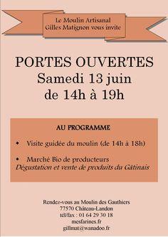 PORTES OUVERTES | Ville de Château-Landon