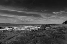 Rock pools of Lorne #lorne #australia #beach #monochrome by axemangraphics http://ift.tt/1IIGiLS