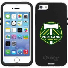 Portland Timbers Emblem Design on OtterBox Symmetry Series Case for Apple iPhone 5SE/5s/5