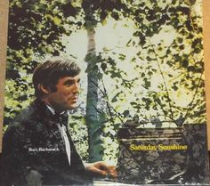 Burt Bacharach SaturdaySunshine Vinyl Pop Record Album by RASVINYL on Etsy