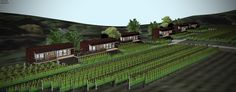 B & B, Bungalow, Vineyard, Outdoor, Design, Outdoors, Vine Yard, Vineyard Vines
