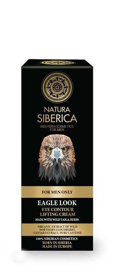 Natura Siberica MEN - FOR MEN ONLY - MIRADA DE ÁGUILA. Crema Lifting controno de ojos (krous.es)