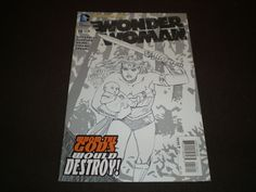 Wonder Woman 18, Cliff Chiang 1:25 Variant Cover, DC Comics, May 2013 @http://stores.ebay.com/NYCleather1022