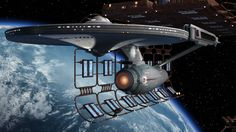Drydock by Enterprise by Dennis Bailey. Travelpod by Raul Mamoru A Tall Ship 3 Uss Enterprise Ncc 1701, Star Trek Enterprise, Star Trek Wallpaper, Starfleet Ships, Star Trek Images, The Enemy Within, Star Trek Starships, Epic Story, Star Trek Ships
