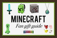 We've carefully researched the very best Minecraft themed gifts - the only resource you'll need for finding gifts for Minecraft fans...