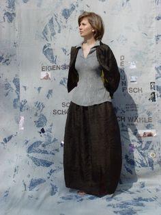 PRIVATSACHEN vintage velvet silk linen ecocotton...........handdyed