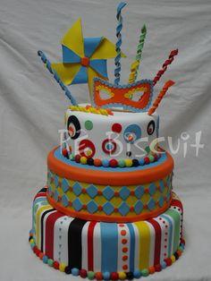 . Ideas Para Fiestas, Childrens Party, Decoration, Cake Decorating, Birthdays, Birthday Cake, Desserts, Bolo Fake, Cakes