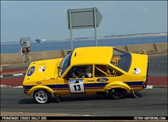 Ford Escort Rally Car nearly rolls over Escort Mk1, Ford Escort, Mk 1, Ford Capri, Rally Car, Car And Driver, Supercars, Vintage Posters, Vintage Cars