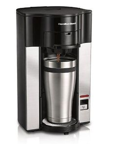 NEW Hamilton Beach Stay or Go Personal Cup Pod Coffeemaker 49990Z FREE SHIPPING