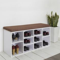 Caldecote Painted Shoe Organiser, painted furniture