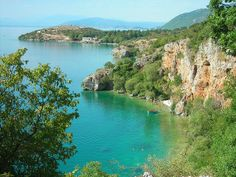 Ohrid's lake, FYR Macedonia. Ohrid and Lake Ohrid is a World Heritage Site by UNESCO as natural and cultural site. In Ohrid is 365 churches....